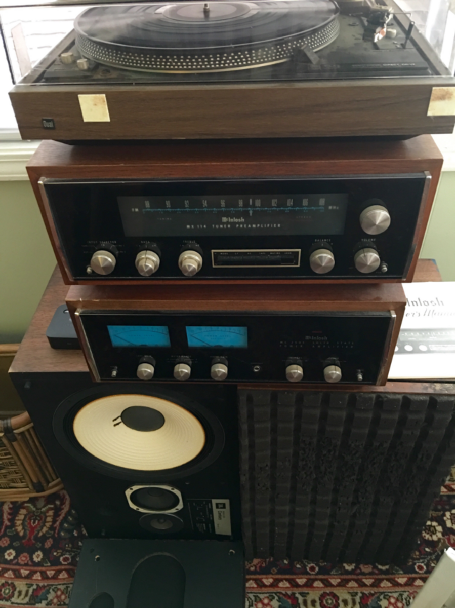 vintage stereo gear