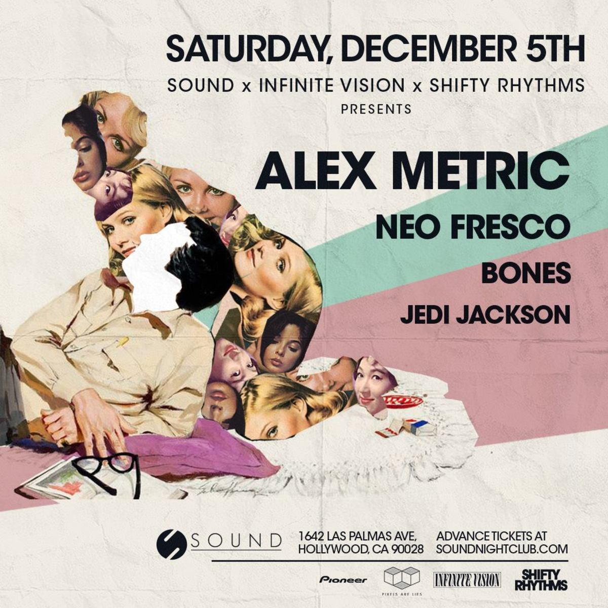 Alex Metric At Sound