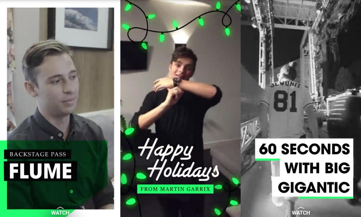 Snapchat EDM best of 2015