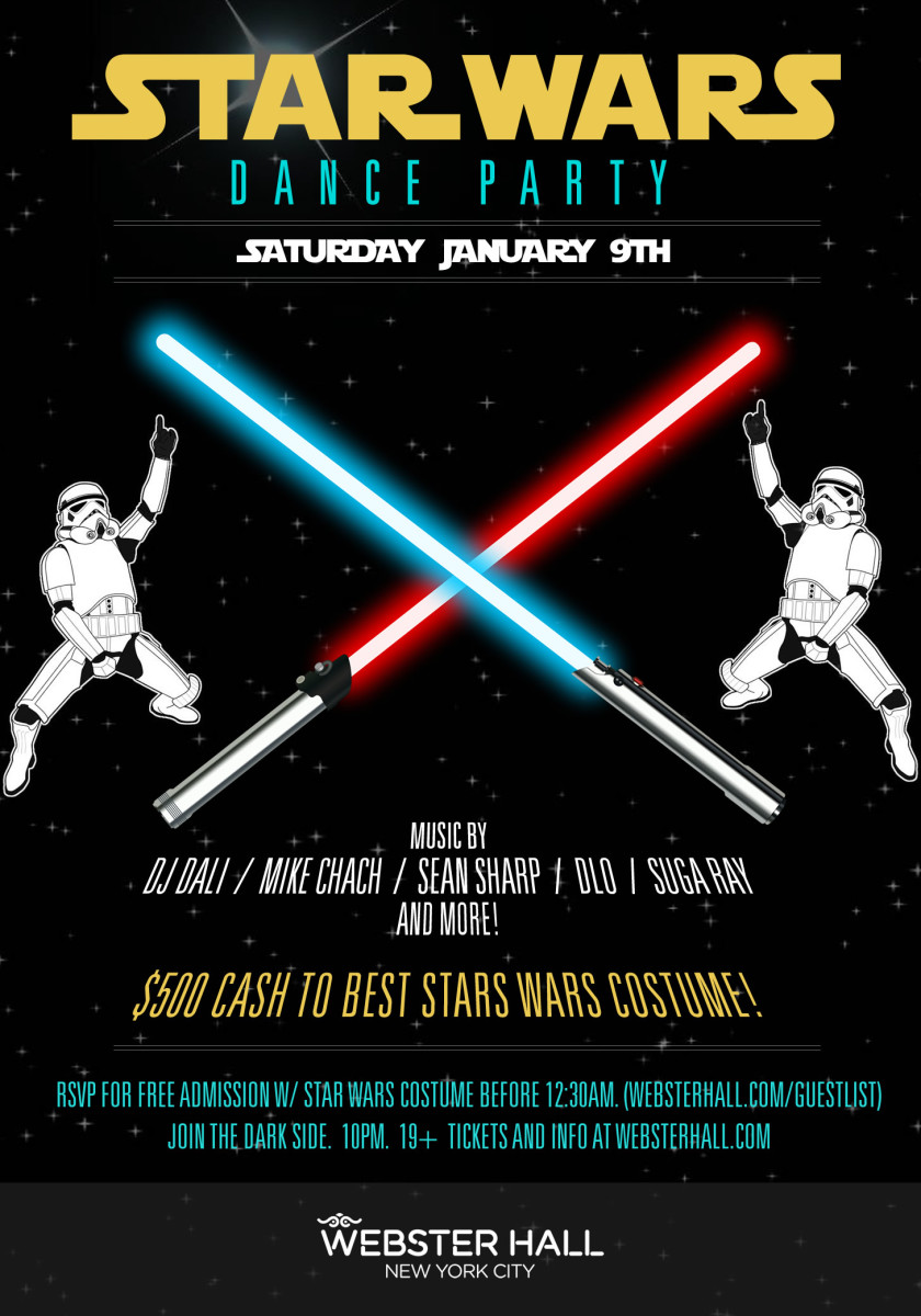 Get your nerd on at the space disco