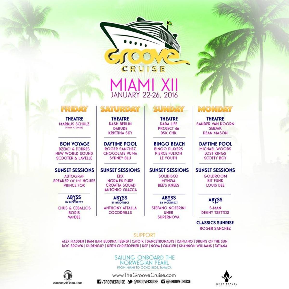 Groove Cruise Miami 2016