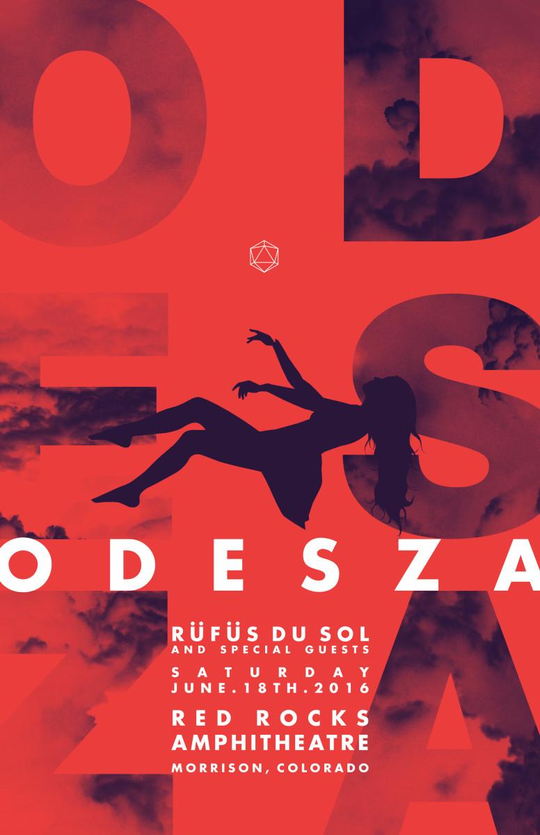 ODESZA - Red Rocks Amphitheatre on June 18th