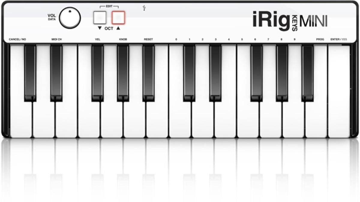 IK Multimedia's iRig Keys Mini