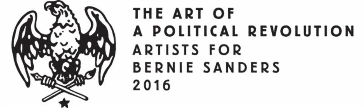 Artists For Bernie Sanders Present The Art of Political Revolution
