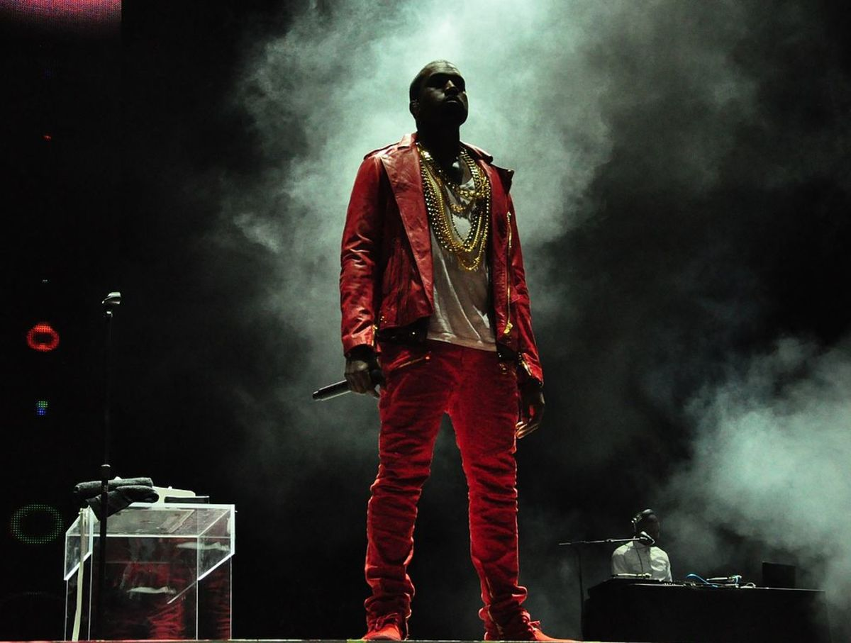 Kanye West (photo by Rodrigo Ferrari)