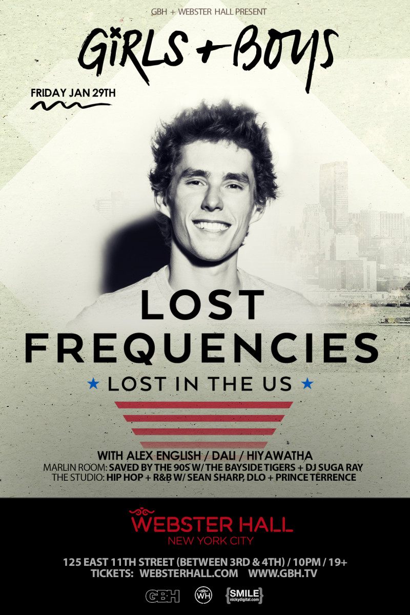 Lost Frquencies Tickets Here