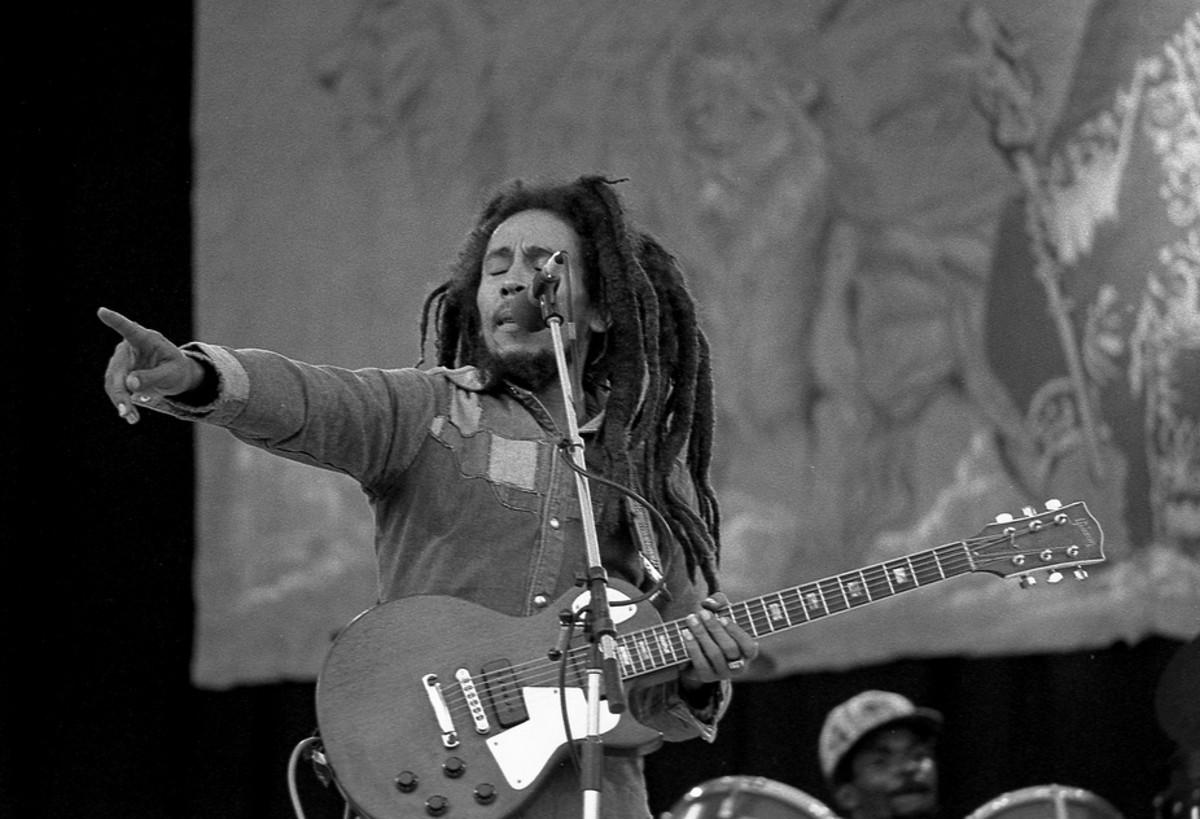 Bob Marley (photo by Eddie Mallin)