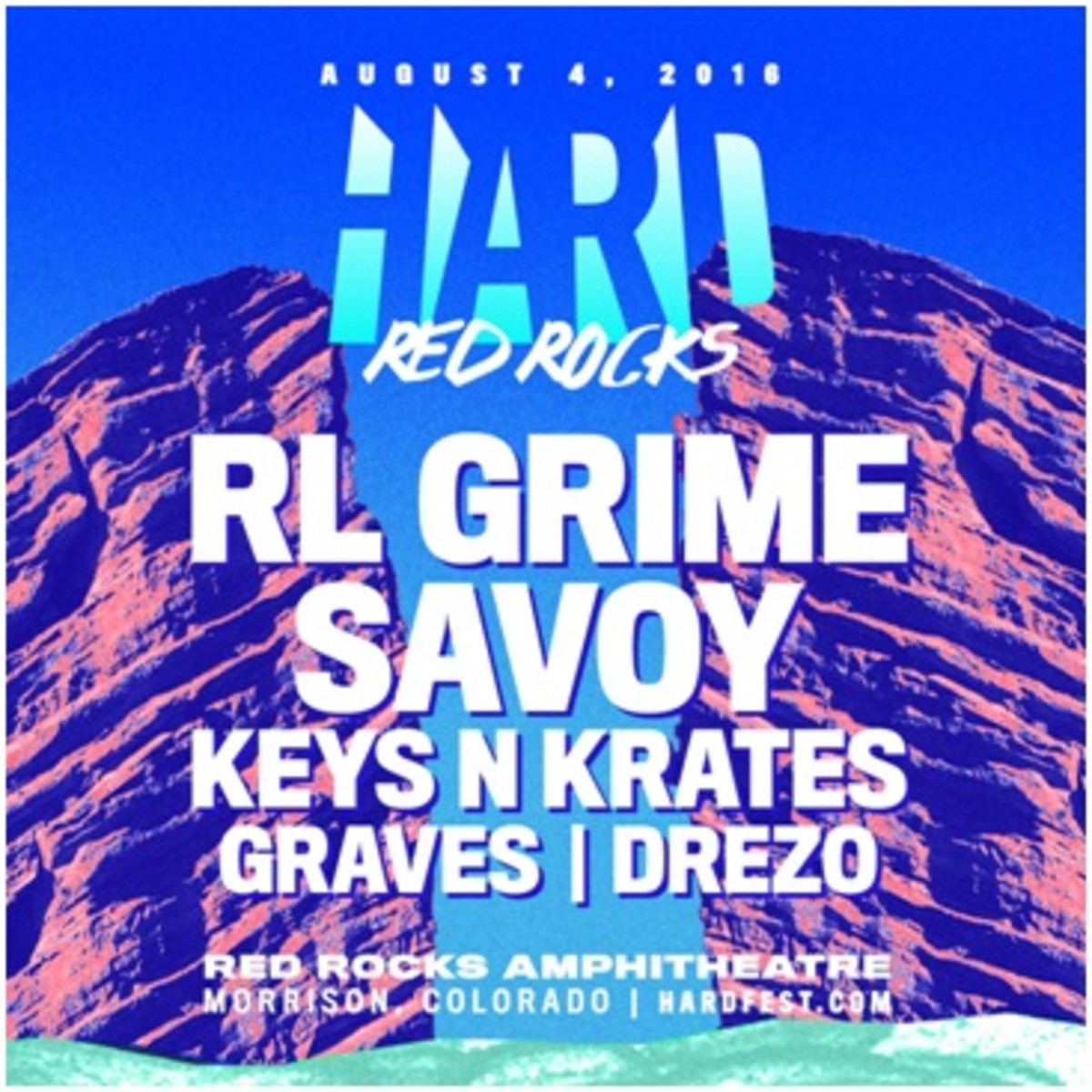 HARD Red Rocks