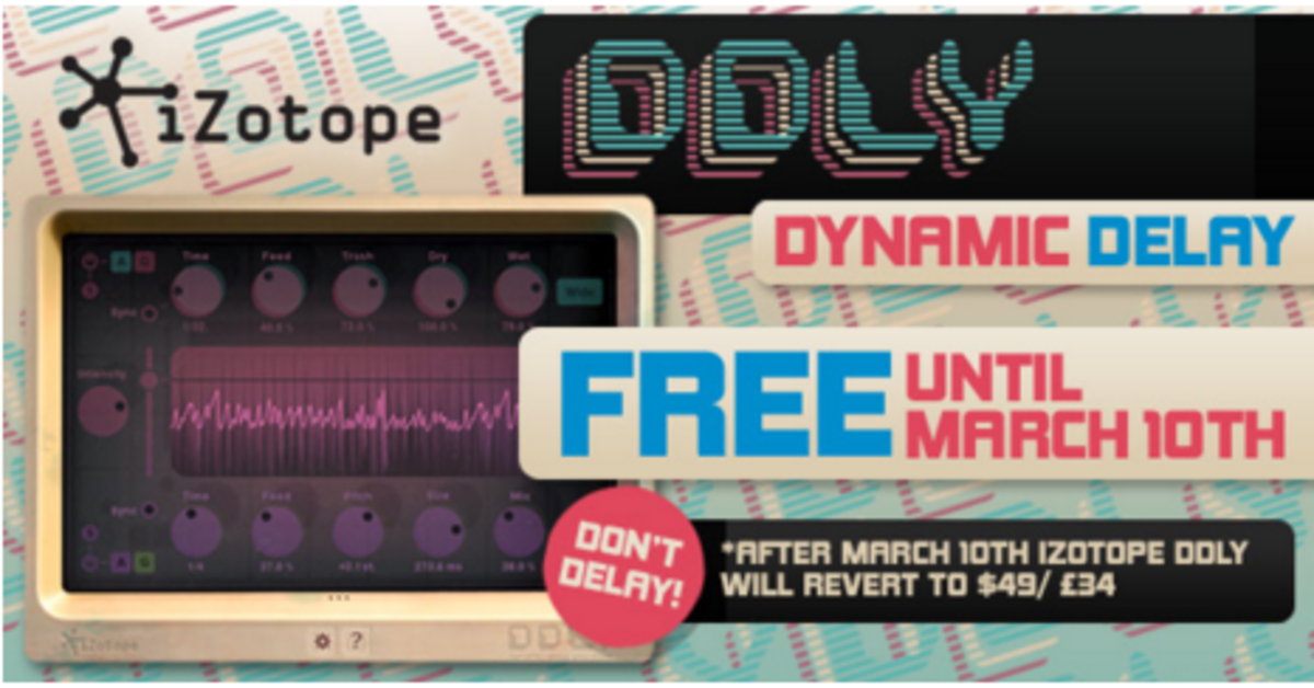 Get the Izotope DDLY Delay FREE Here