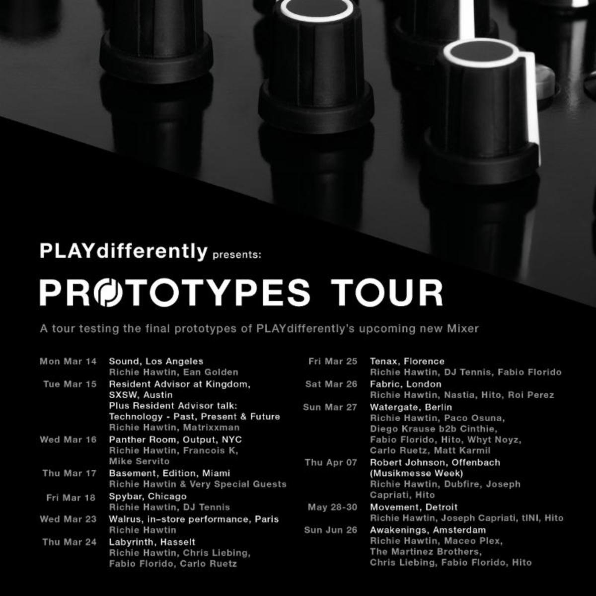 PLAYdifferently PROTOTYPES TOUR