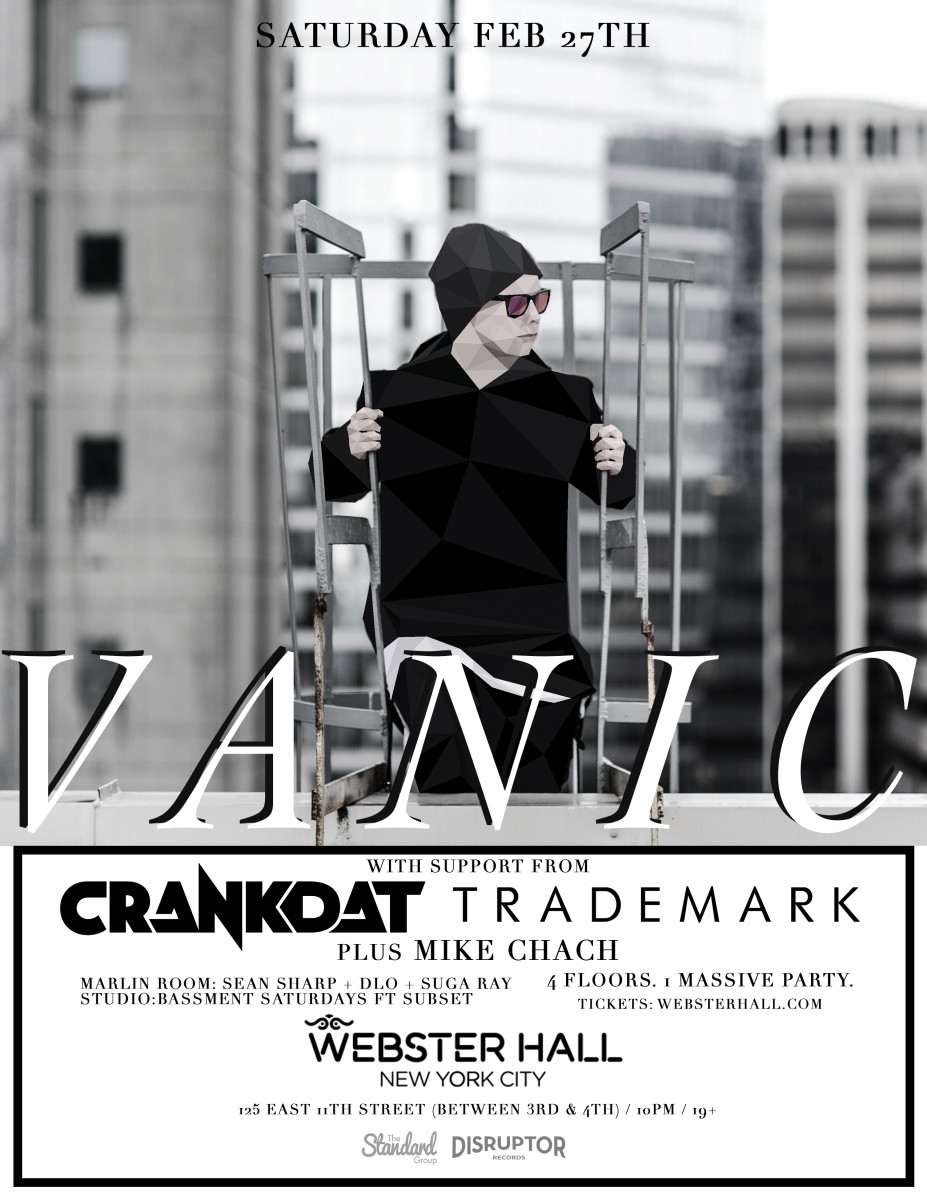 Vanic Tickets Here