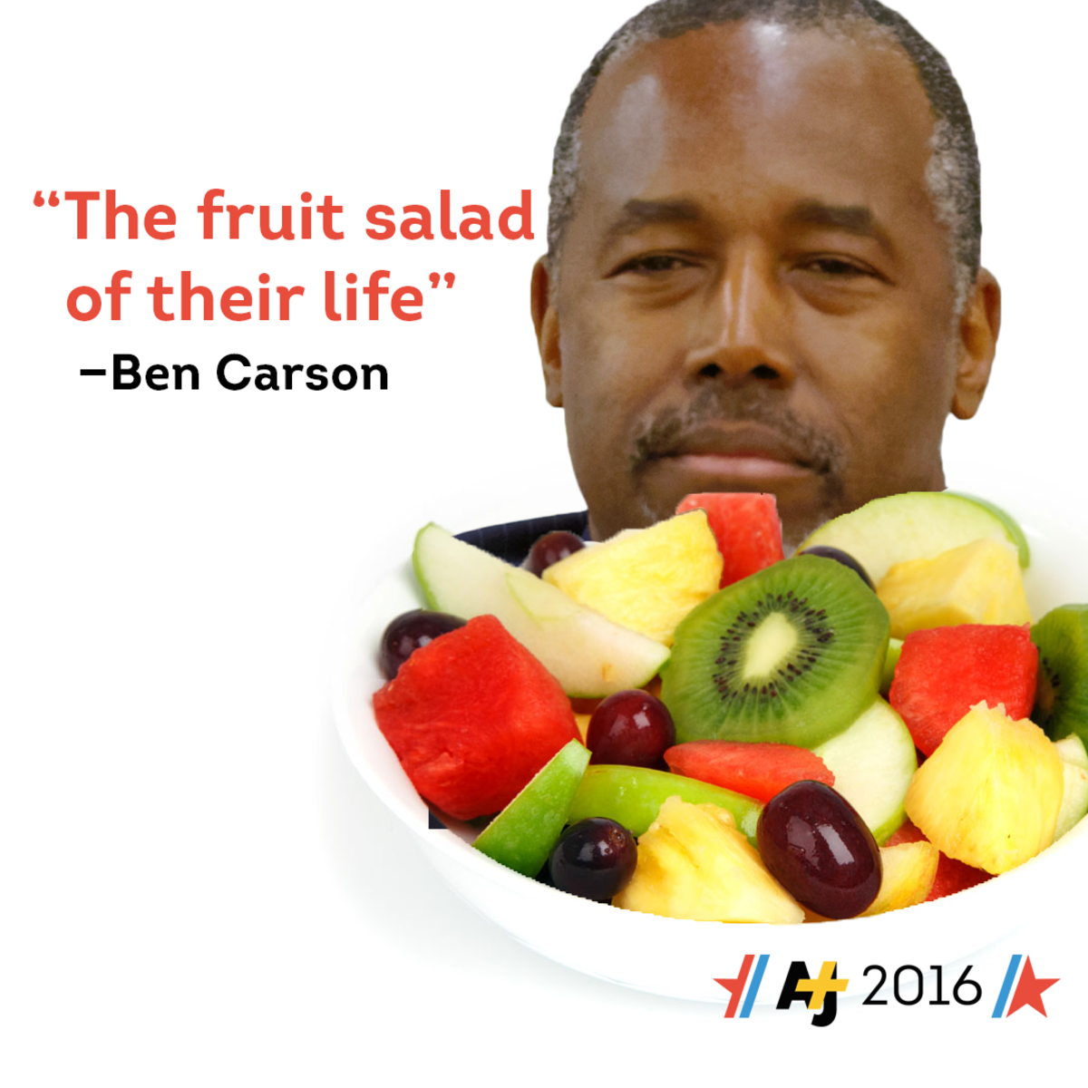 Ben Carson Fruit Salad AJ+