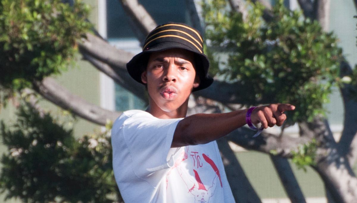 Earl Sweatshirt (photo by Incase)