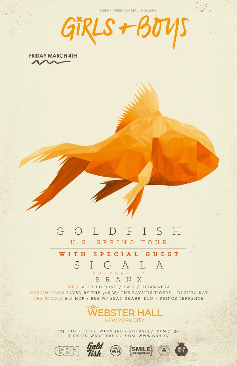 Goldfish Tickets Here