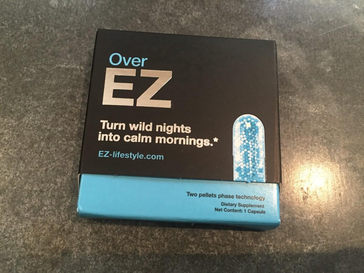 Over EZ hangover pills