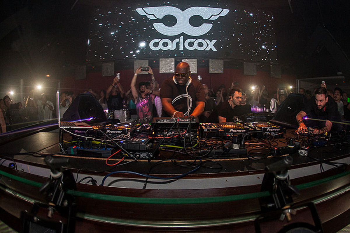 Carl Cox at Space Ibiza (photo by Malagalabombonera)