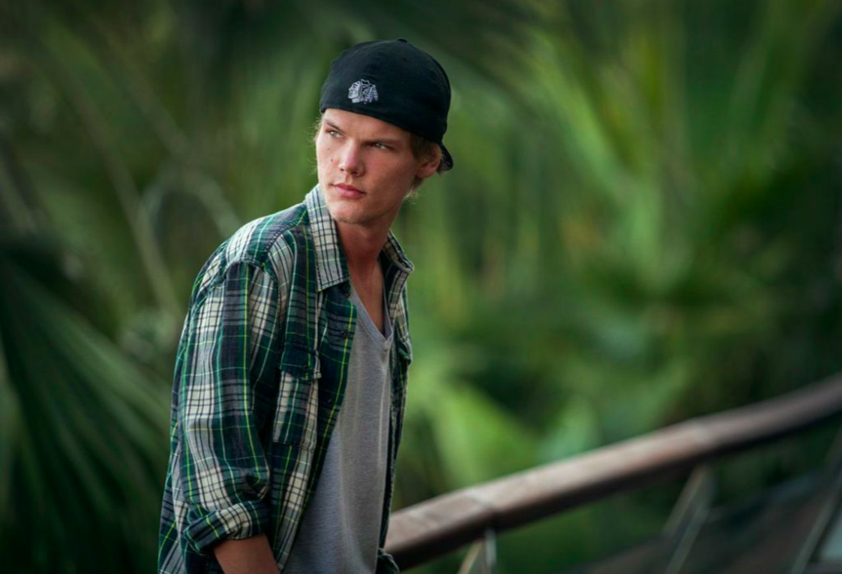 avicii (photo via The Perfect World Foundation)