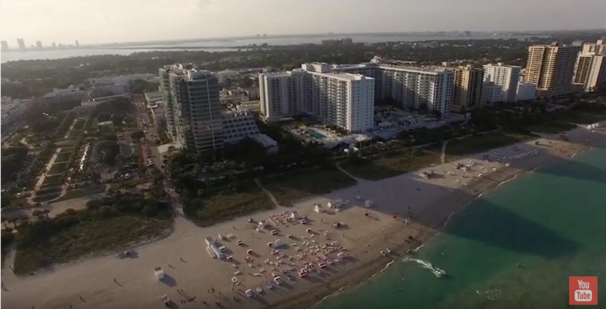 Miami Drone shot