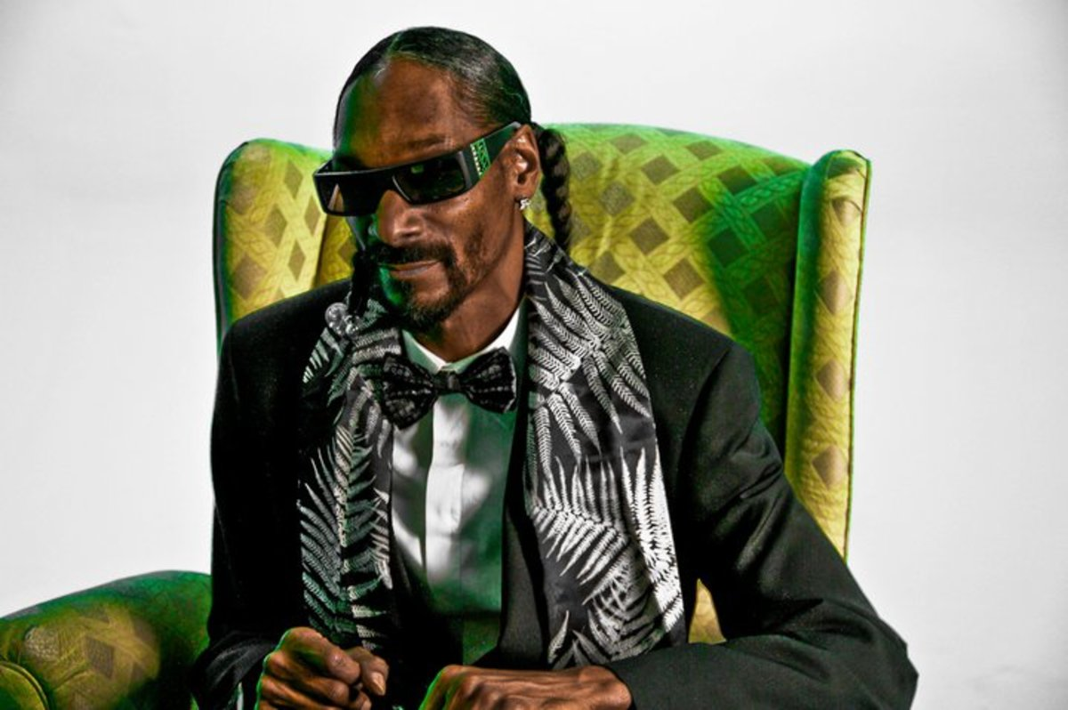 Snoop Dogg (photo by Bob Bekian)