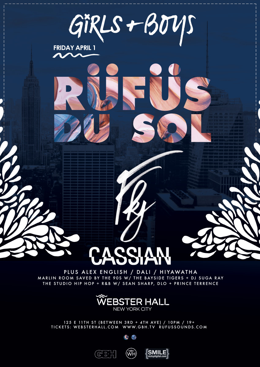 Get RUFUS DU SOL Tickets Here