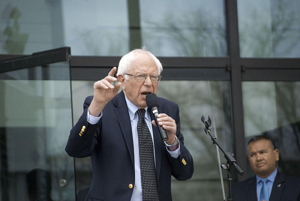 Bernie Sanders Rally - Raleigh NC (Mar 11th 2016) (photo by Scott Pelkey)