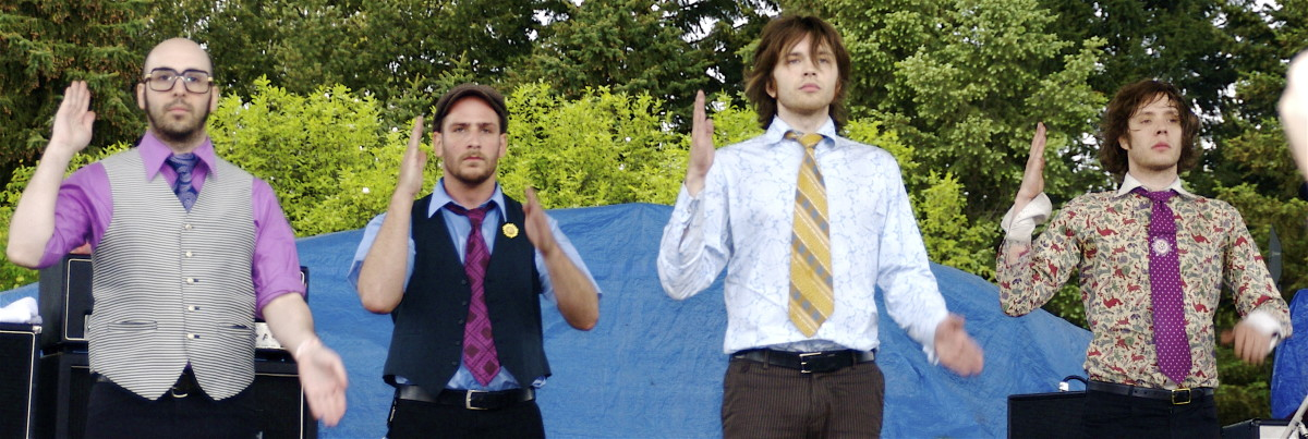 OK Go (photo by Daniel Nugent)