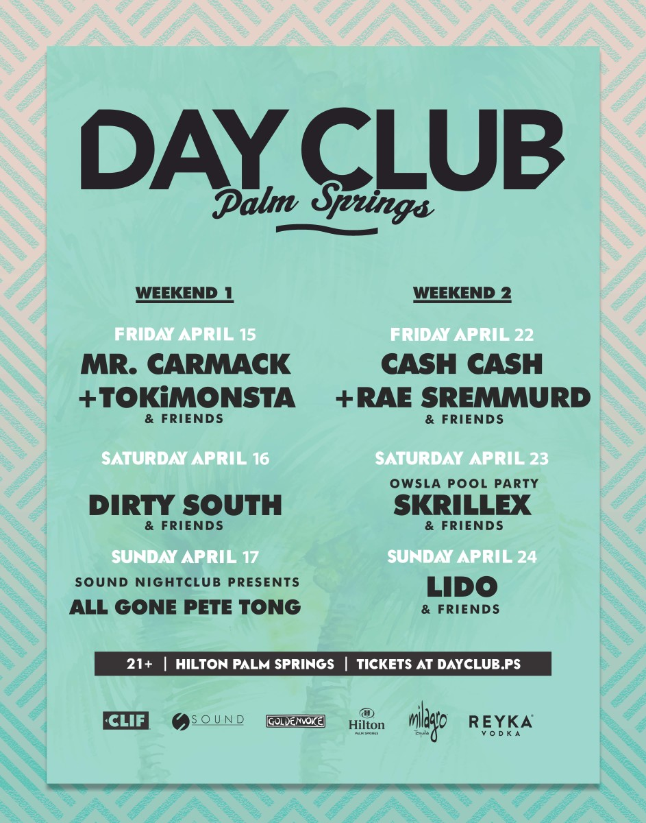 Day Club Line-up