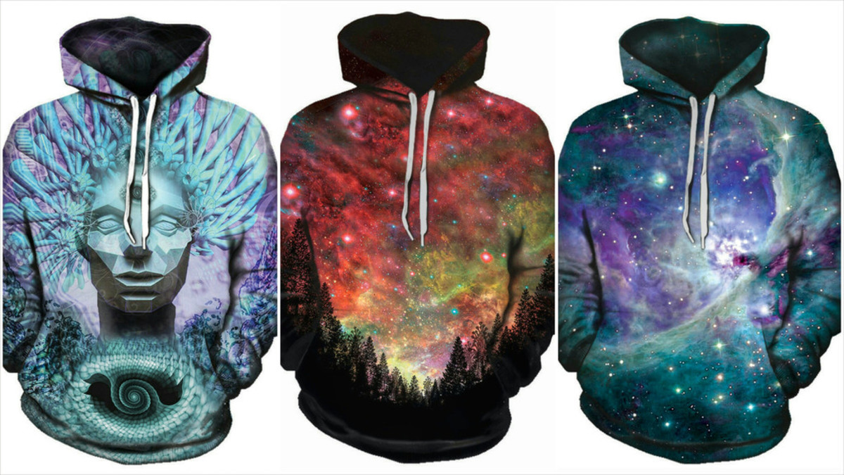 Some of iEDM's Hoodie Designs
