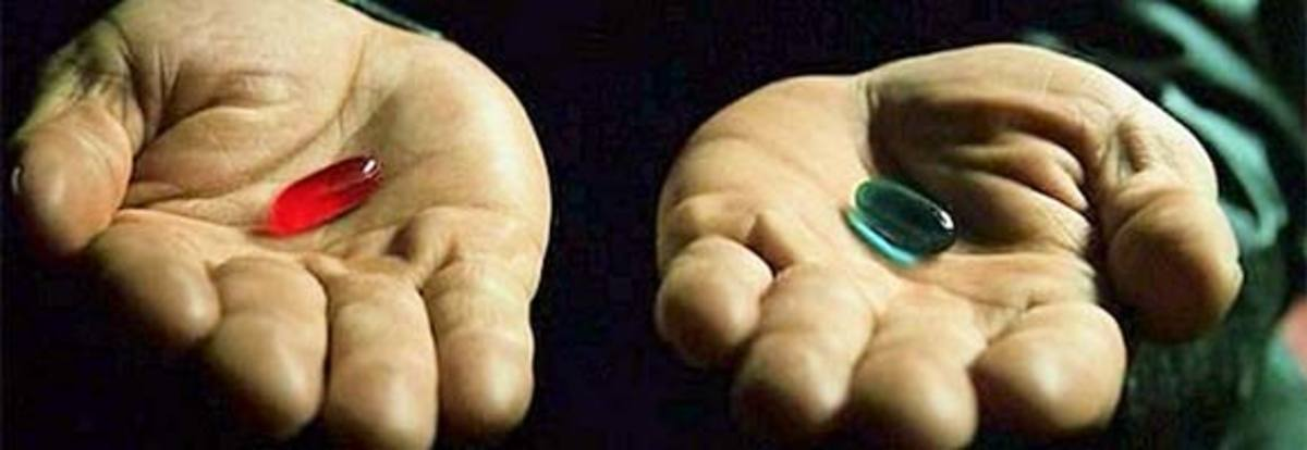Red Pill, Blue Pill