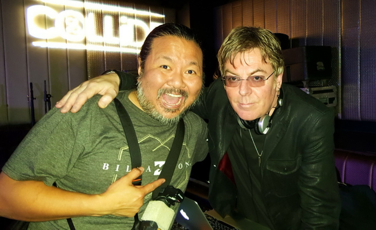 Andy Rourke from The Smiths