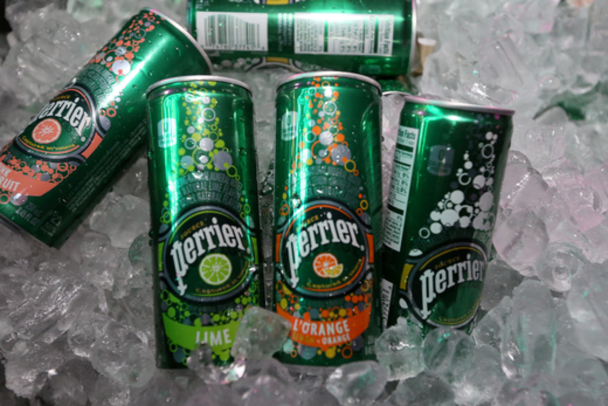 Perrier...good for the soul and a parched throat...