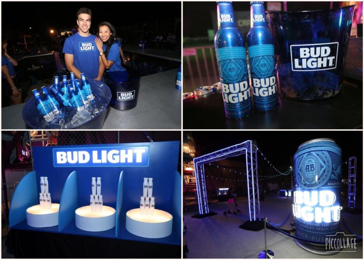 Bud Light beer garden for all...
