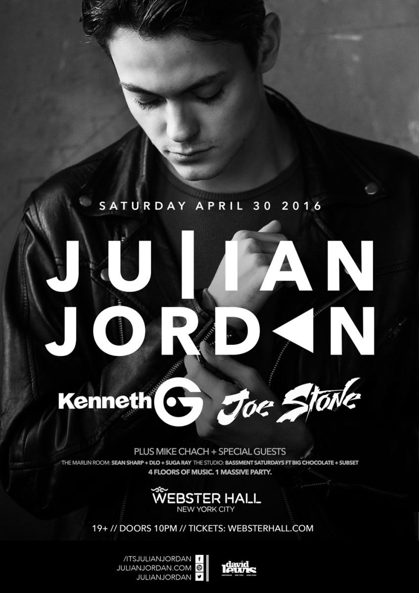 Julian Jordan Tickets Here