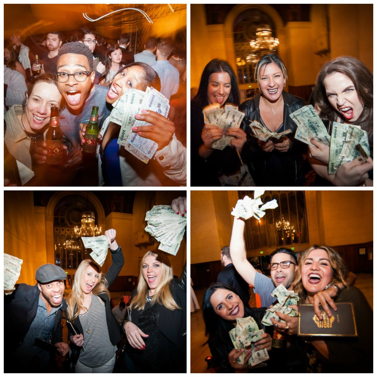 money money money for all... (photos provided by Dos Equis)