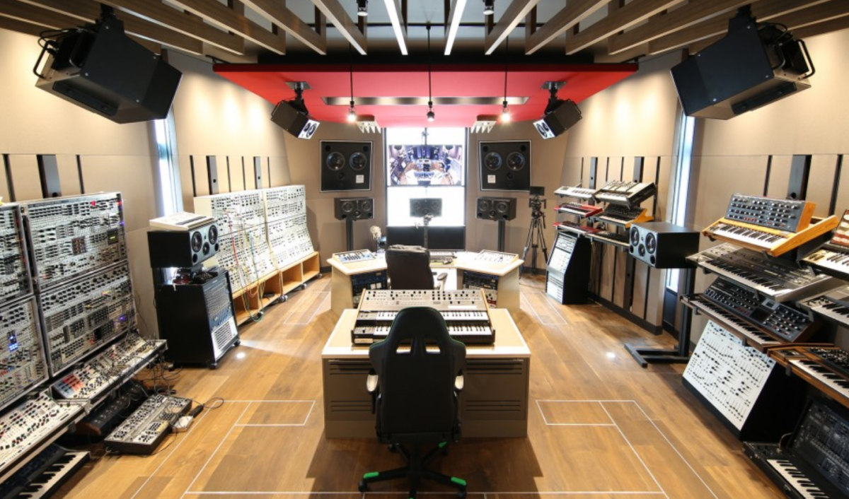 Deadmau5 Home Studio