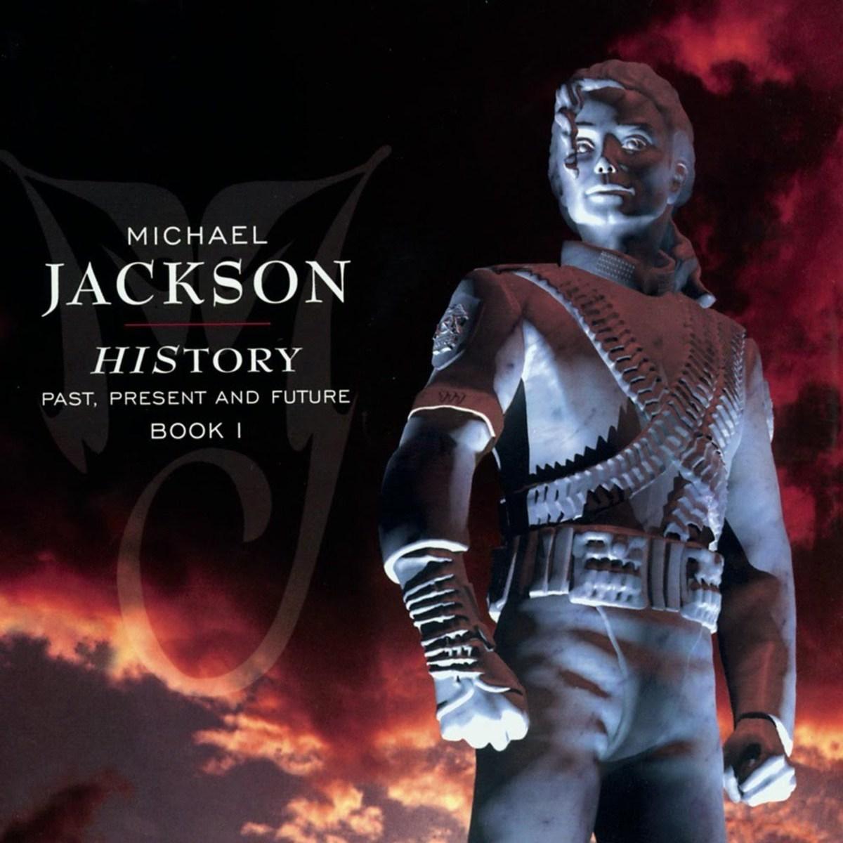 Michael Jackson History Album Cover