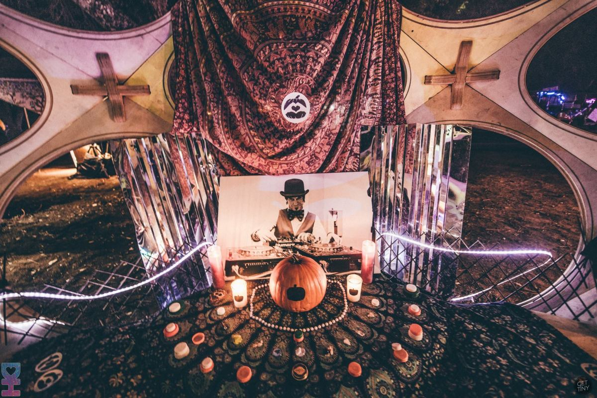 One of the Pumpkin tribute areas. Photo by Juliana Bernstein.