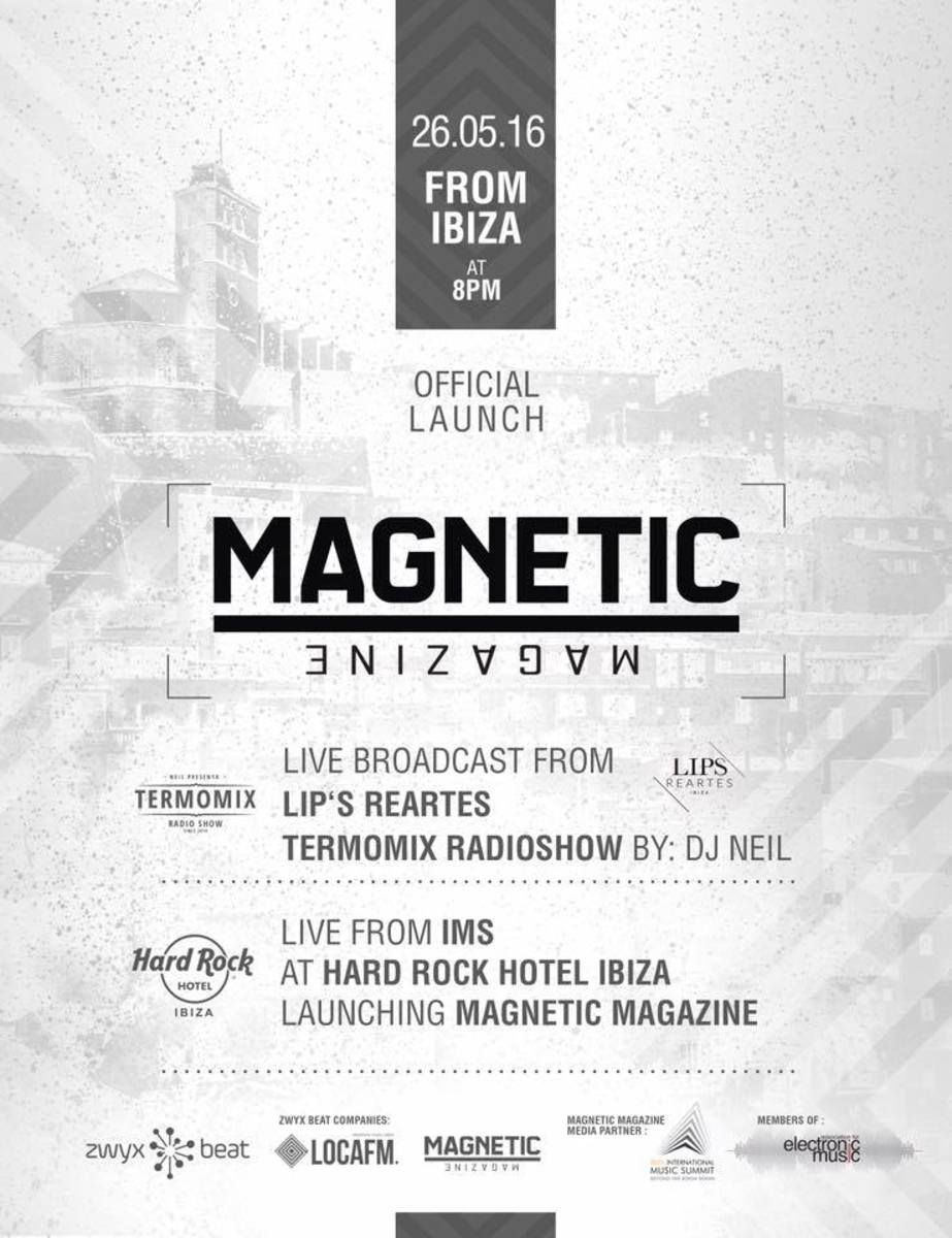 Magnetic Spain / Latin America is announced today at IMS Ibiza