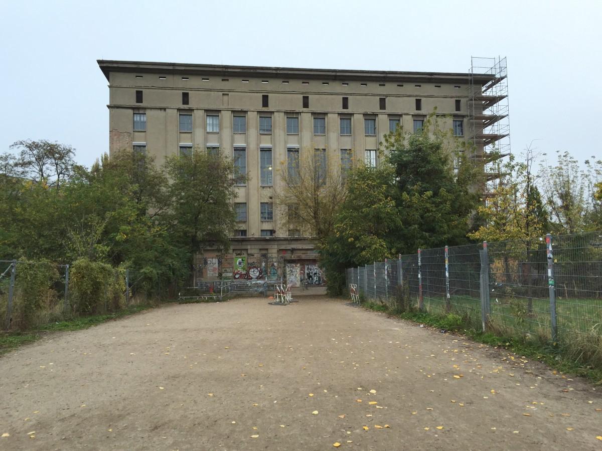 Berghain Berlin Nightclub Outside
