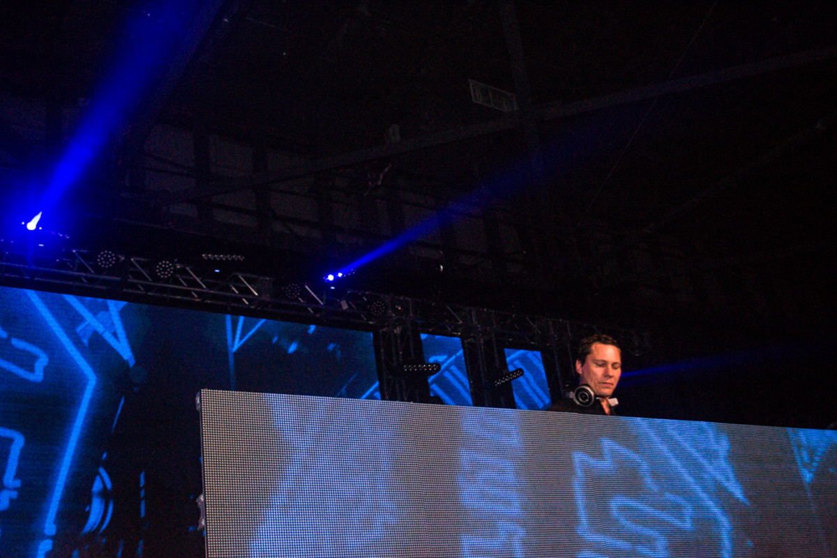 Tiesto performs at the Maxim party, part of the Indianapolis 500 weekend. Photos: Jeremiah Williams