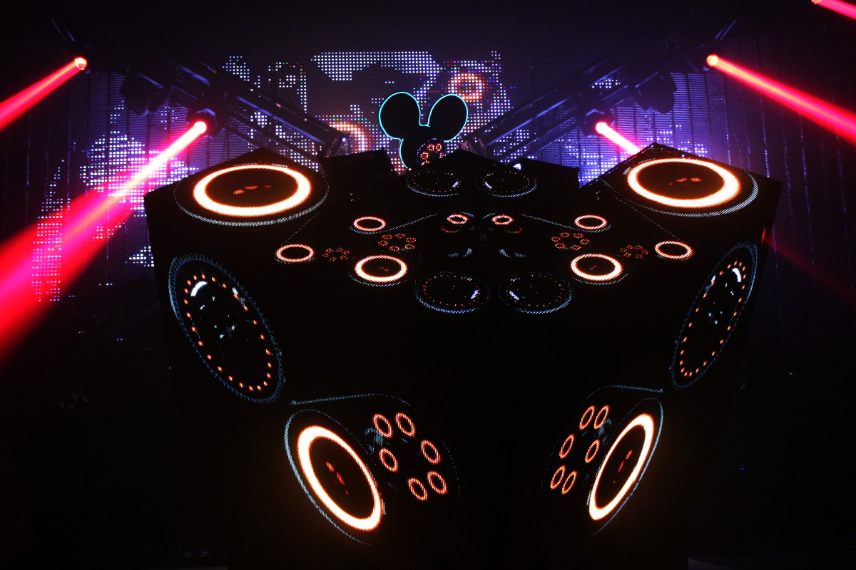 deadmau5 (photo by Eli Watson)