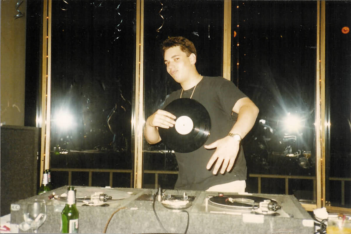 DJ AM rose quickly in LA's celebrity-driven party scene.