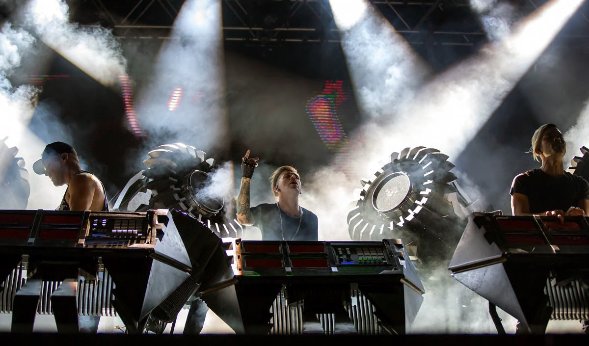 The Glitch Mob (photo by Ralph Arvesen)