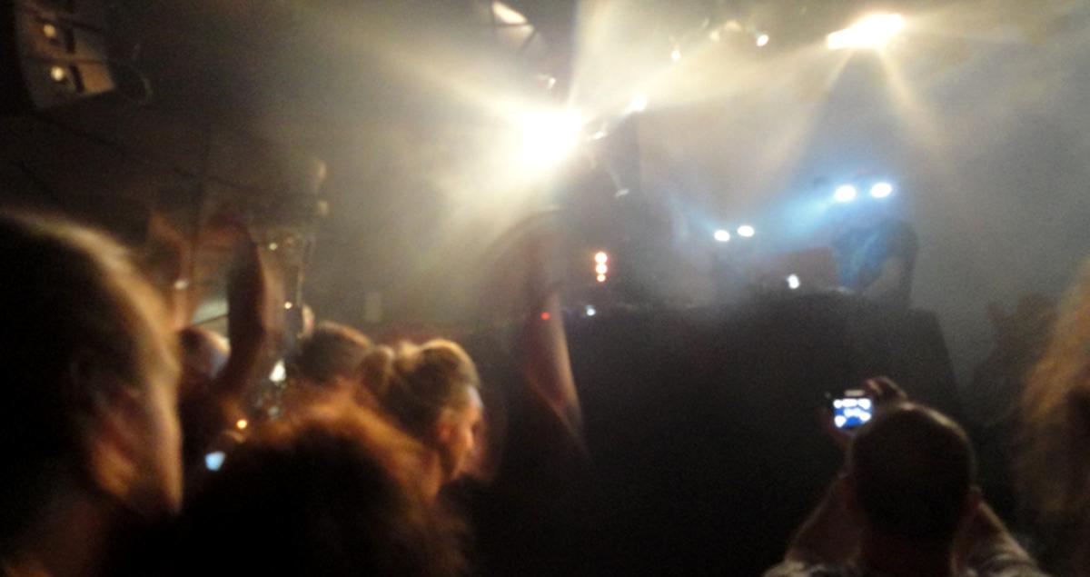 Orbital live killing it at Paris' club Nouveau Casino