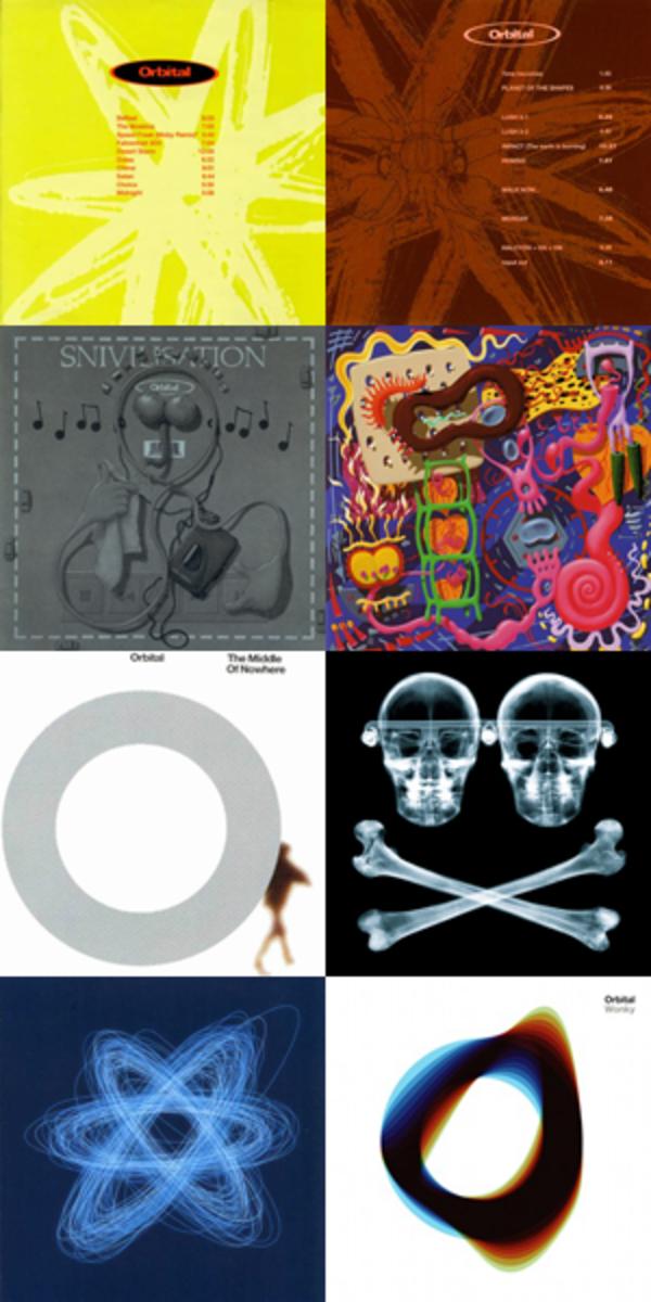 Orbital's 8 Albums
