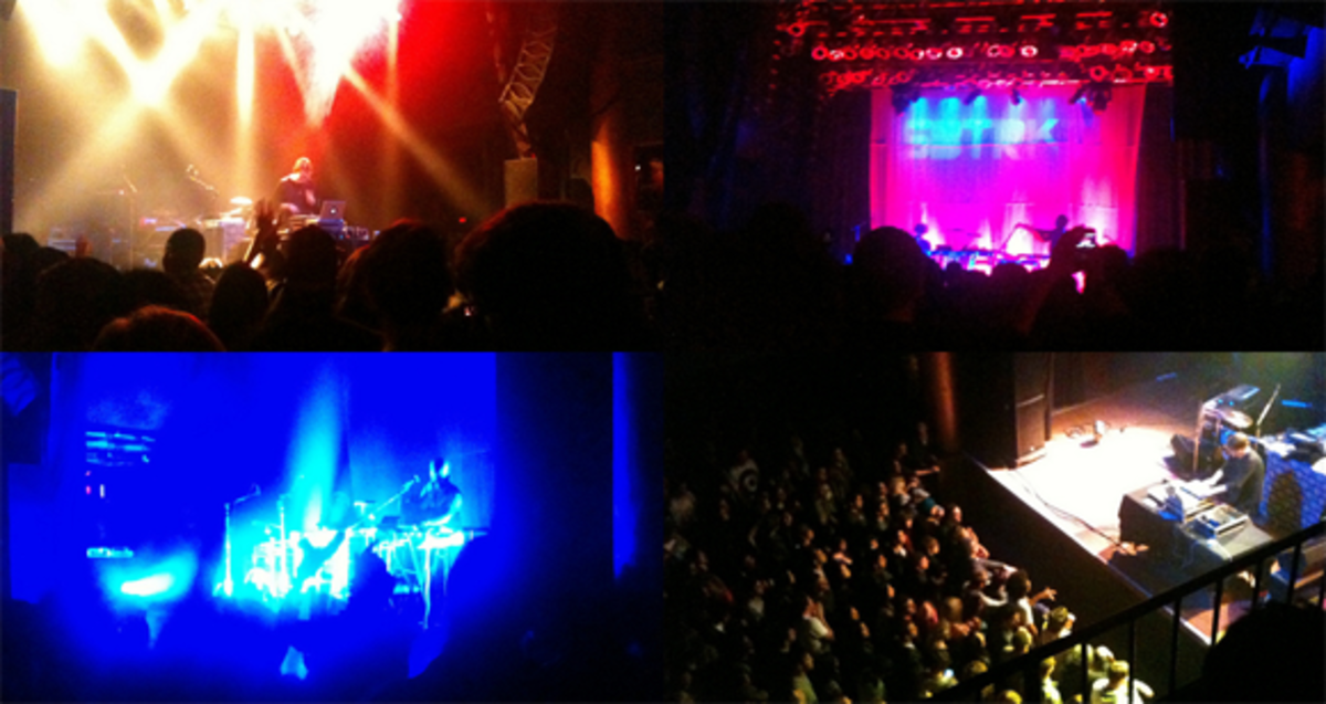 SBTRKT and Mach Drum in San Diego at House of Blues