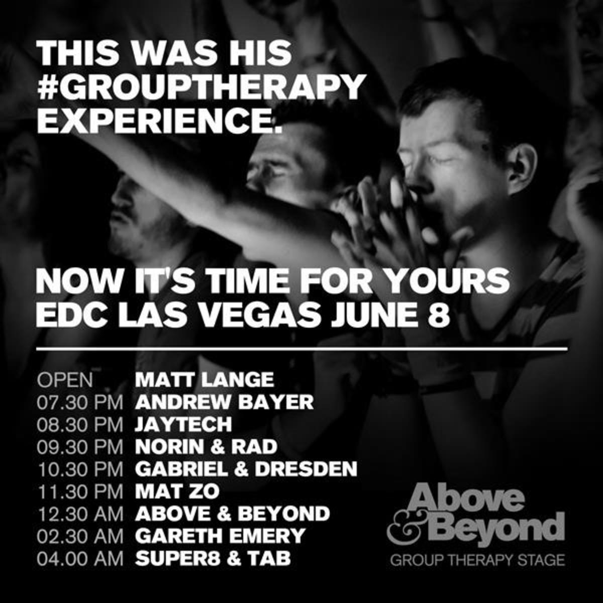 A&B_Flyer_EDC Group Therapy Stage
