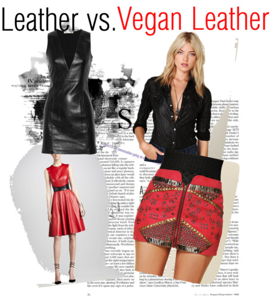 Leather vs. Vegan Leather