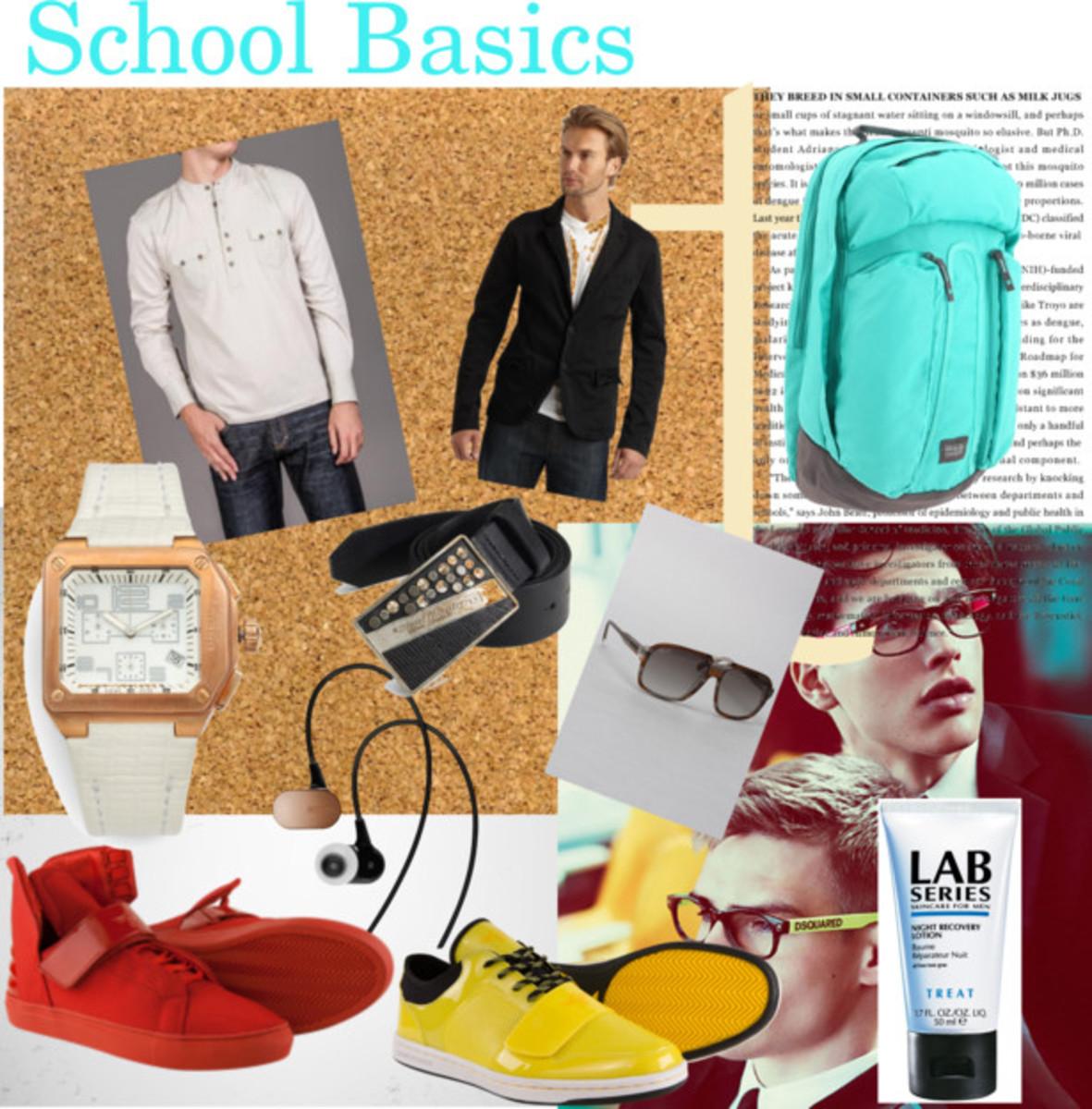 Men School Basics