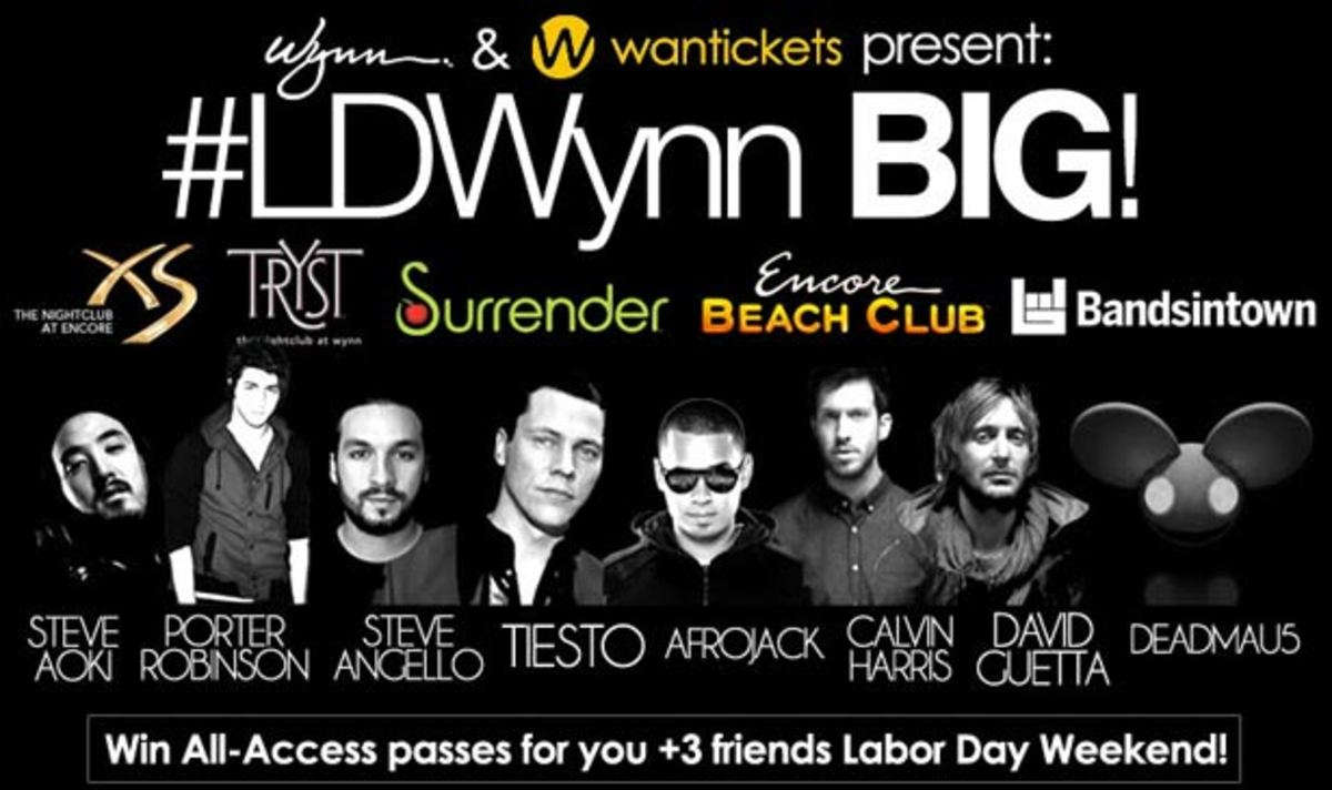 Contest: Wynn and Wantickets and Labor Day Weekend in Las Vegas